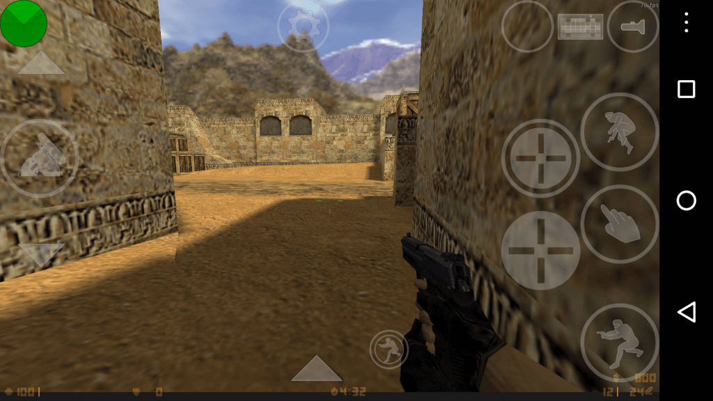 counter strike 1.6 android apk+data